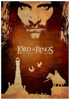 LOTR Lord of the Rings Film Series Poster Set / Print High by onlyarts Jrr Tolkien, Legolas, Great Films, Good Movies, Cinema Posters, Movie Posters, Rings Film, O Hobbit, Into The West
