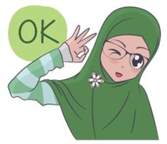 Her name is Ukhti Ayu, She is very pretty and friendly. with a simple hijab she would accompany in the chat room with your friend. Cute Drawings Of Love, Simple Hijab, Islamic Cartoon, Hijab Cartoon, Smiley Emoji, Islamic Girl, Funny Emoji, Funny Stickers, Girly Quotes