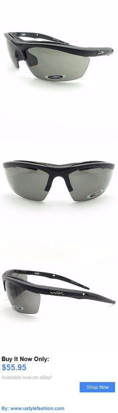 Unisex accessories: Wiley X 4004 Guard Grey/Clear Matte Black New Authentic Sunglasses BUY IT NOW ONLY: $55.95 #ustylefashionUnisexaccessories OR #ustylefashion