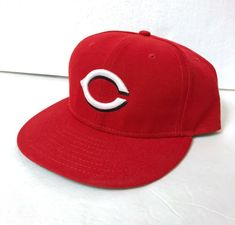 Details about CINCINATTI REDS - NEW ERA 59FIFTY FITTED RED HAT CAP - SIZE 7  1 8 4ce49521c