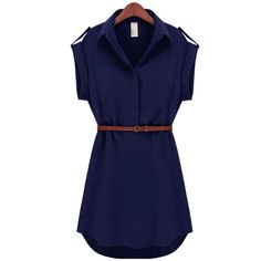 Fashion Women Stretch Chiffon Casual Dress