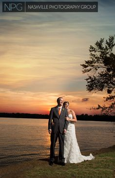Beautiful #sunset at #RockCastle in #Hendersonville, #Tennessee #Nashville #Wedding #Photography by #NashvillePhotographyGroup