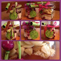 Cookies in a jar Cookies im Glas