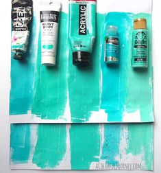 What Is the Best Paint for Gelli® Printing? - Take a look at how these five paints work on the Gelli® printing plate! Gel Press, Gelli Plate Printing, Gelli Arts, Plate Art, Collages, Cool Paintings, Fabric Painting, Making Ideas, Printmaking
