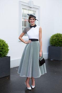 Street style from Oaks Days 2015 - Vogue Australia
