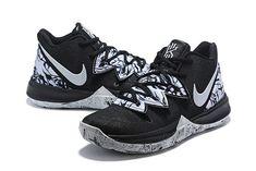 7436bc4ac94a Buy Nike Kyrie 5 BHM Black White Shoes-3 White Basketball Shoes