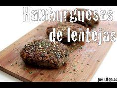 Hamburguesas de lentejas•••FÁCILES Y RICAS! /Marichula cocina♥ - YouTube