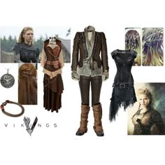 """Viking inspired"" by thebigtree on Polyvore"