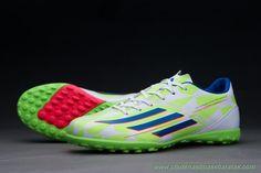 de31f7e5c2 lojas de tenis online Masculino Core Branco Rich Azul Solar Verde ADIDAS  ADIZERO F50 FG. comprar chuteiras ...