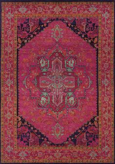 Lalita Rug - i am in love with this rug but it matches nothing in my house!