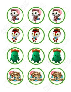 Sheriff Callie's Wild West edible cupcake images cupcake toppers