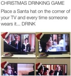 Are you ready for the epic Christmas drinking game?Are you ready for the epic Christmas drinking game? Christmas Drinking Games, Movie Drinking Games, Friends Drinking Game, Drinking Funny, Game Place, Fun Games, Teen Party Games, Funny Jokes, Drunk Humor
