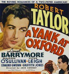 A Yank at Oxford - Starring Robert Taylor (1938)