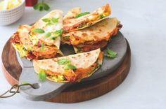Cuketová nádivka dědy Jirky | Apetitonline.cz Quesadilla, Chorizo, Tacos, Mexican, Ethnic Recipes, Food, Quesadillas, Essen, Meals