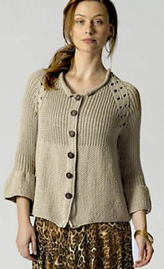 lovely raglan and sleeve shaping | free pattern available