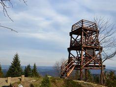 Wieża widokowa na Korbani.