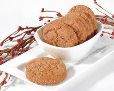 Made with our versatile 1001 Cookie Starter base, these Gingery Snaps are sure to be a hit at your holiday table.