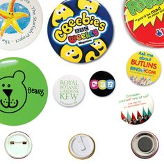 Promotional Printed Button badges are the perfect product for low and high volume