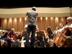 Lost composer Michael Giacchino rehearses with the Lost Live orchestra. The music from this series was epic in SOOOO many ways!