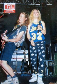 Stone Gossard and Andy Wood - Mother Love Bone
