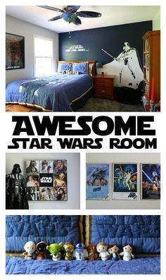 Star Wars Bedroom: A Little Boy's Dream