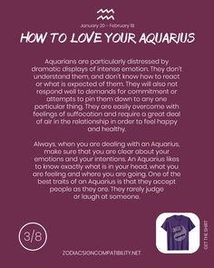 Find your Zodiac Signs Compatibility for all zodiac signs, for couples, relationships and love matches and find your Couple shirts to match. Capricorn And Aquarius Compatibility, Taurus And Aquarius, Aquarius Traits, Aquarius Quotes, Aquarius Woman, Zodiac Signs Aquarius, Aquarius Daily, Signs Compatibility, Zodiac Horoscope