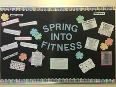 Victoria Rivera's spring bulletin board '16
