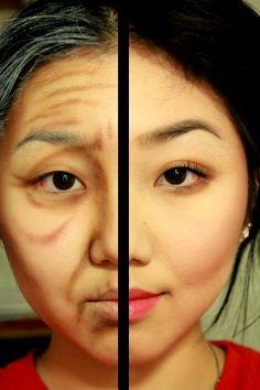 postarzanie make up