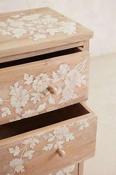 Anthropologie - Pearl Inlay Dresser