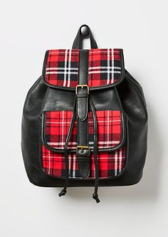 Plaid Backpack | rue21