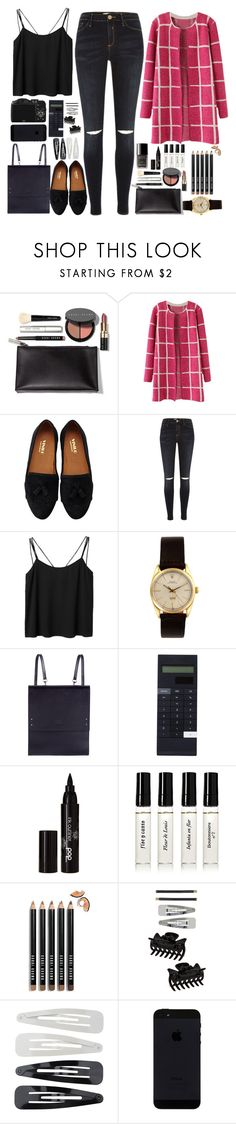 """I'm living on such sweet nothing"" by annaclaraalvez ❤ liked on Polyvore featuring Bobbi Brown Cosmetics, American Rag Cie, River Island, Monki, Rolex, Under My Roof, CO, Mark's, Chanel and POP"