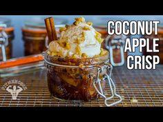 ▶ Coconut Apple Crisp / Crujiente de Manzana y Coco - YouTube