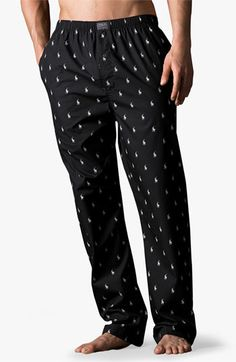 Polo Ralph Lauren Print Lounge Pants (Big) available at #Nordstrom