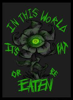 Horrortale!Flowey by NastyNasti.deviantart.com on @DeviantArt