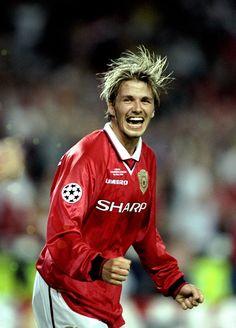 David Beckham - Manchester United, Preston North End, Real Madrid, LA Galaxy, AC Milan, Paris Saint-Germain, England.