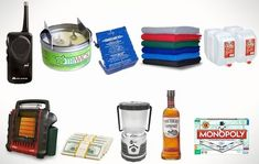 If you haven't already, it's time to stock up on all the essential storm gear. Here's our Snow Storm Emergency Preparedness Kit.   NOAA Radio - We like the M