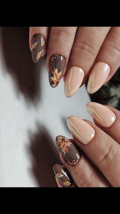 Fall Acrylic Nails, Autumn Nails, Winter Nails, Glam Nails, Cute Nails, Pretty Nails, Colorful Nail Designs, Gel Nail Designs, Gelish Nails