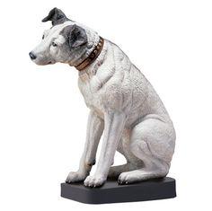 Nipper, the RCA Dog Statue