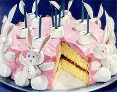 Vintage Easter ...presto cake flour 1941