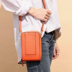 d839fbd9fb214c Hot-sale designer Brenice Women Flap Solid Card-slots Phone Bag Crossbody  Bag Online