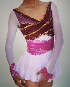 Mulan Figure Skating Dress