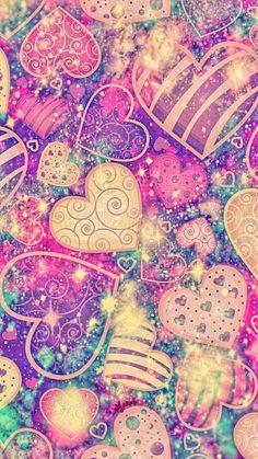 She Wolf Galaxy Wallpaper Glitter Phone Wallpaper, Hd Wallpaper Android, Heart Wallpaper, Butterfly Wallpaper, Love Wallpaper, Cellphone Wallpaper, Colorful Wallpaper, Galaxy Wallpaper, Iphone Wallpapers