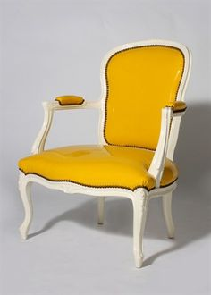 1930s lacquered fauteuils from Jan Showers