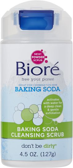 Bioré Baking Soda Cleansing Scrub Ulta.com - Cosmetics, Fragrance, Salon and Beauty Gifts