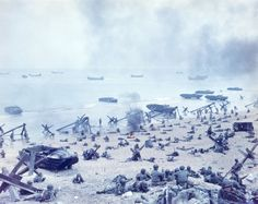Rare Color Film And Photos Cast D-Day In A Completely New Light