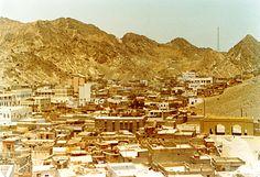 Oman | Vintage photo of city of Muscat (1973). credit: Brian Harrington Spier. view on Fb https://www.facebook.com/SinbadsOmanPocketGuide #Oman #TravelToOman #SinbadPocketGuide