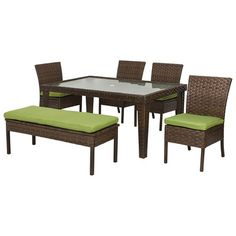 Belmont Wicker Patio Dining Furniture Collection.Opens in a new window.