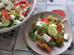 Greckie smaki: Sałatka z bakłażanem