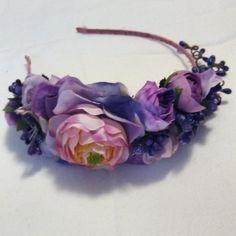 Сиренево-фиолетовый обруч