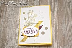 painted petals #stampinup #2015occasionscatalogue #yegstampinup #stampinupcanada #handmade #craftwithjoyce